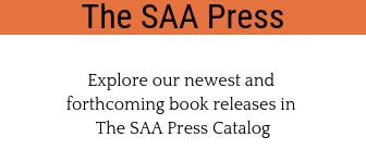 The SAA Press homepage ad