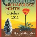 2011 California Archaeology Month Poster